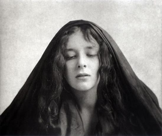 Alphonse Marie Mucha14. Model posing in Mucha's studio rue du Val de Grâce Via muchafoundation