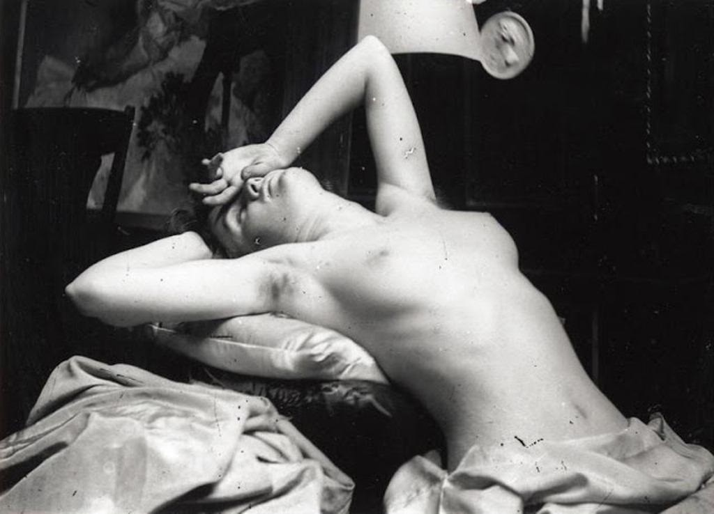 Alphonse Marie Mucha. Model posing in Mucha's studio rue du Val de Grâce Via muchafoundation