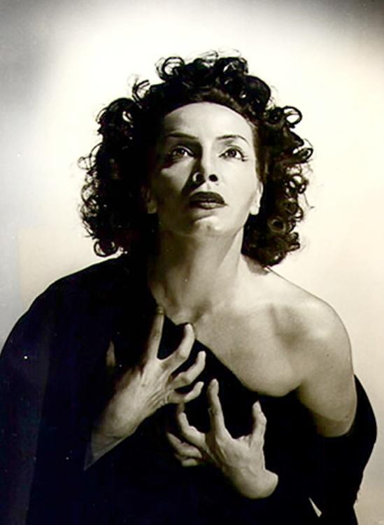 Anne-Marie Heinrich. Alejandra Boero 1960 Via wiki