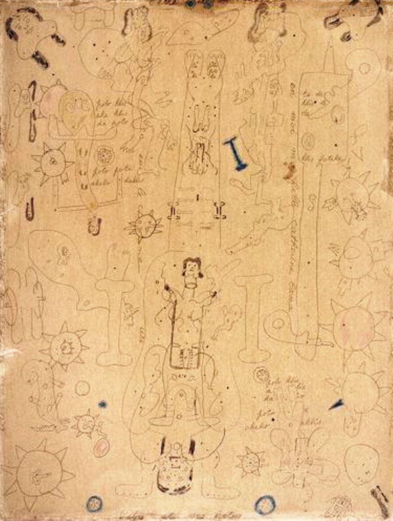 ANtonin Artaud. L'être et ses foetus Via RMN
