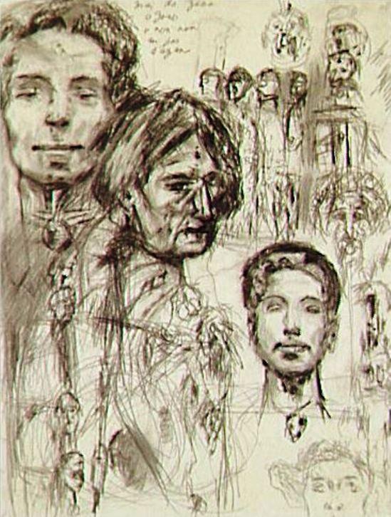 Antonin Artaud. Non daté Via RMN