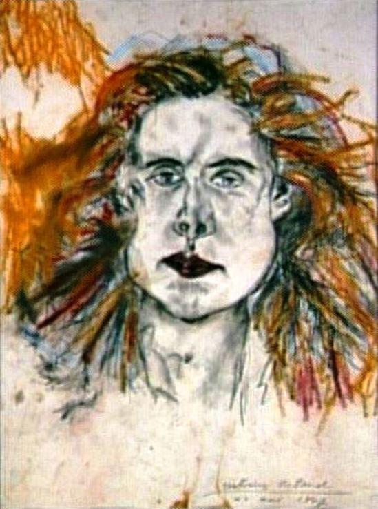 Antonin Artaud. Portrait de Minouche Pastier Via RMN