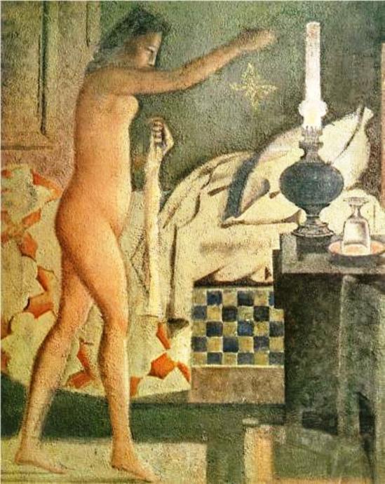 Balthus. La phalène 1960