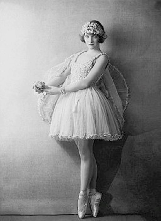 Dorothy Wilding. Actress Dorothy Dickson Wearing Tutu 1922 Via corbisimages