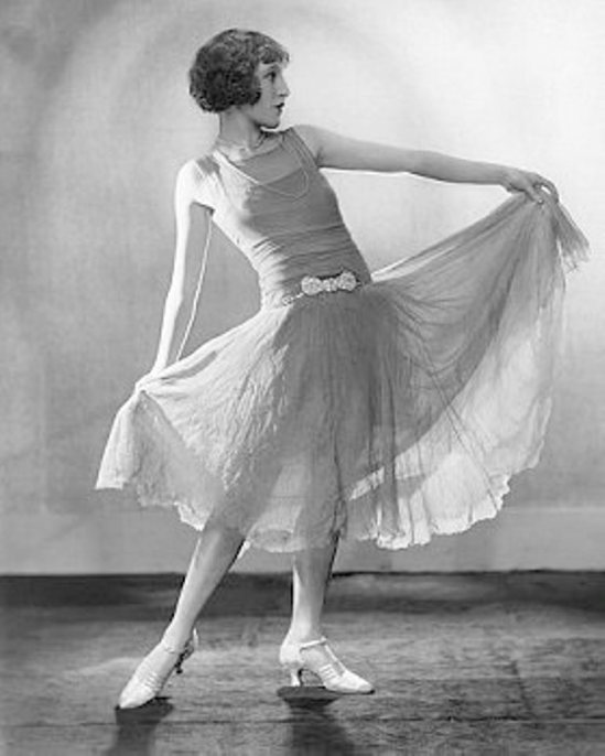 Dorothy Wilding. Dancer Billie Tevlin Via corbisimages