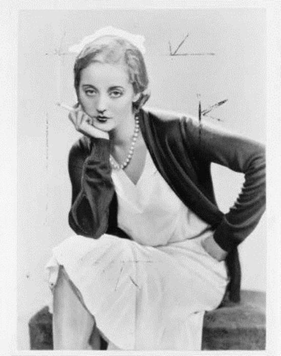 Dorothy Wilding. Tallulah Bankhead smoking 1931 Via ebay