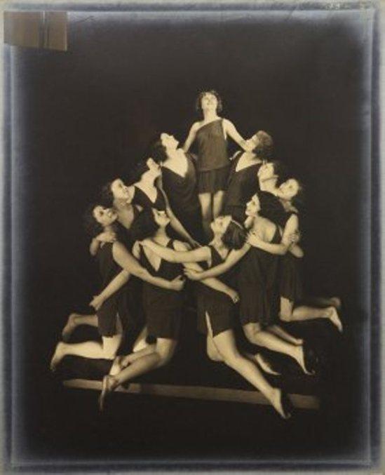 Edward Steichen. The Russian pupils of Isadora Duncan. Circular Arrangement 1929 Via liveauctioneers