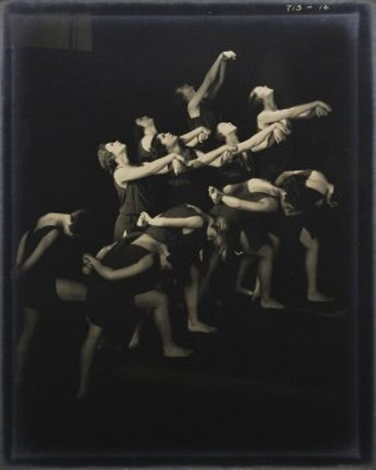 Edward Steichen. The Russian pupils of Isadora Duncan. Reaching upward  1929 Via liveauctioneers