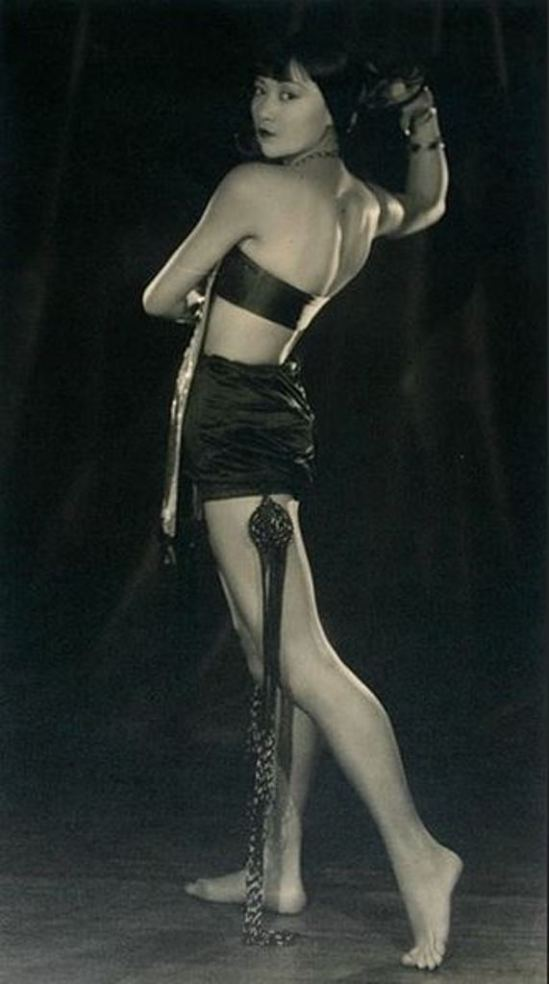 Edwin Bower Hesser. Anna May Wong Via historicalzg