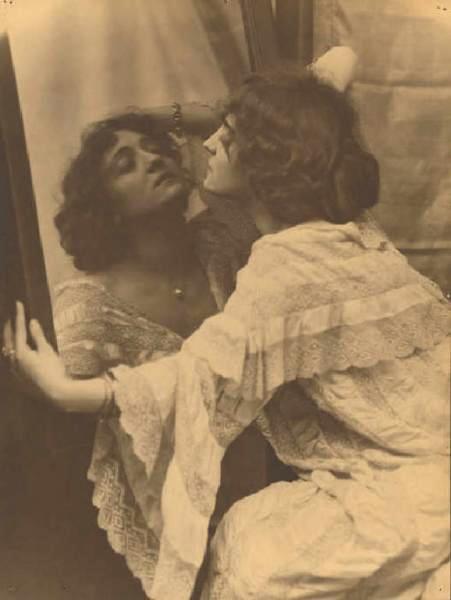Emilio Sommariva. Lyda Borelli 1912 Via lombardiabenicultura