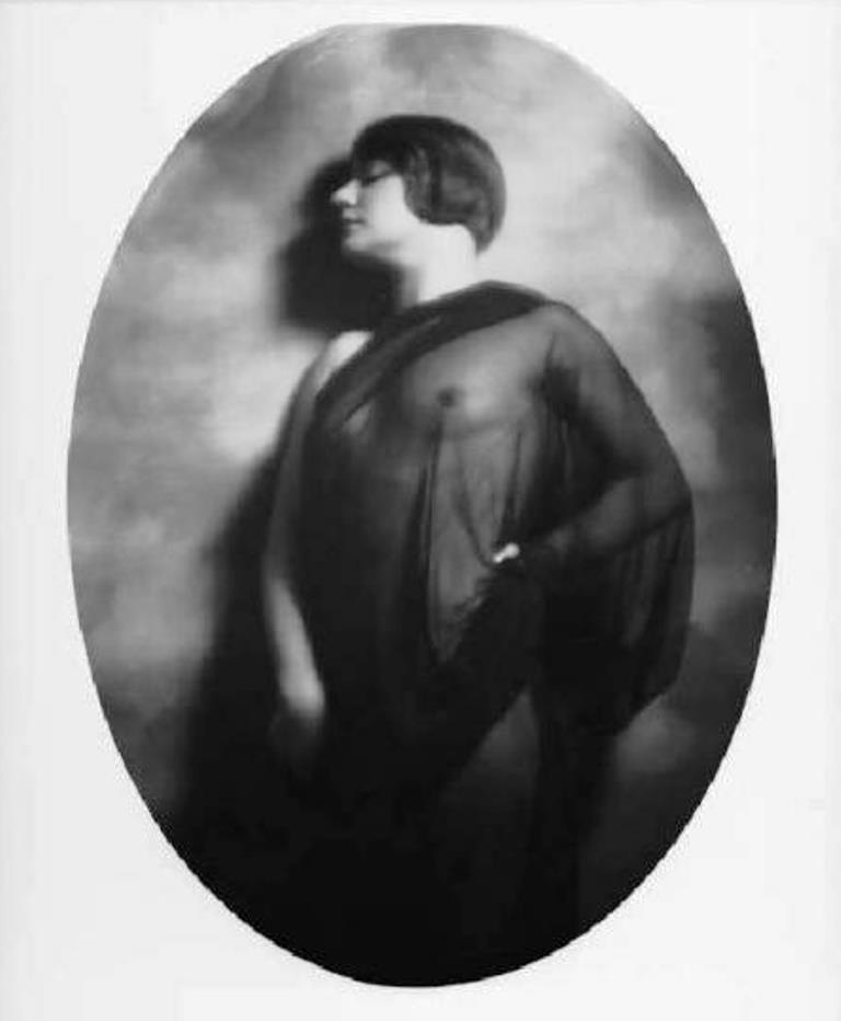 Emilio Sommariva. Nu féminin. Janne Pavesi 1928  Via lombardiabenicultura