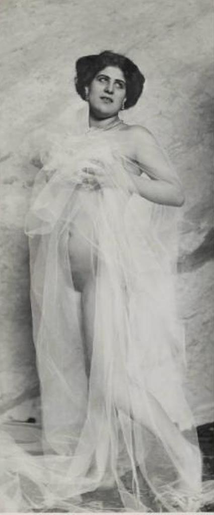 Emilio Sommariva. Nu féminin. Lucia Majorano 1910 Via lombardiabenicultura