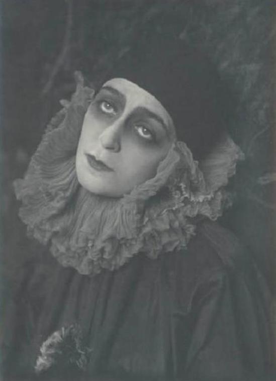Emilio Sommariva2. Diana Karenne 1917-1918 Via lombardiabenicultura