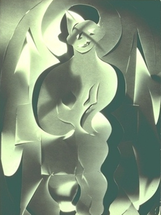 Francis Bruguière. The Light of the World 1930 Via mutualart