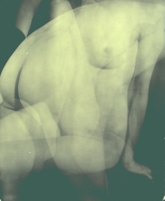 Francis Bruguiere.  Multiple exposure - nude 1926 Via geh.org