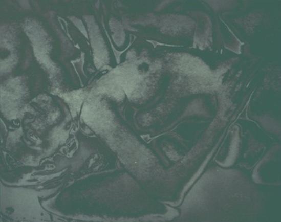 Francis Bruguiere.  Solarized nude 1936-1940 Via geh.org