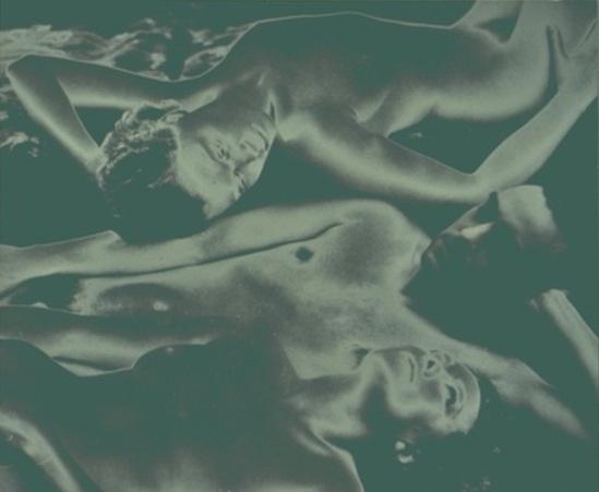 Francis Bruguiere1.  Solarized nude 1936-1940 Via geh.org
