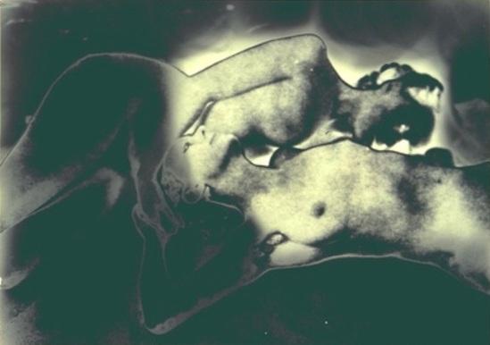 Francis Bruguiere5.  Solarized nude 1936-1940 Via geh.org