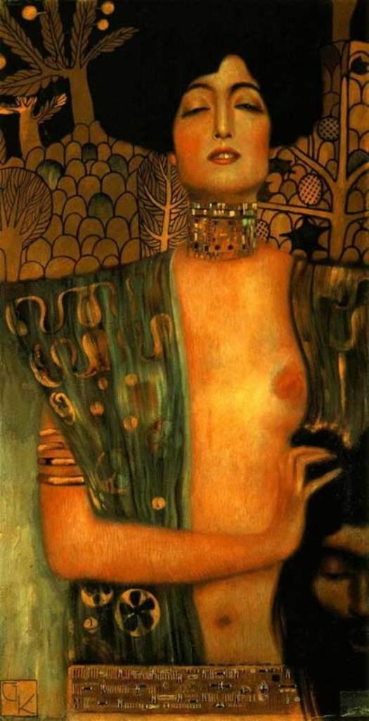Gustav Klimt. 1901 Judith  oil on canvas