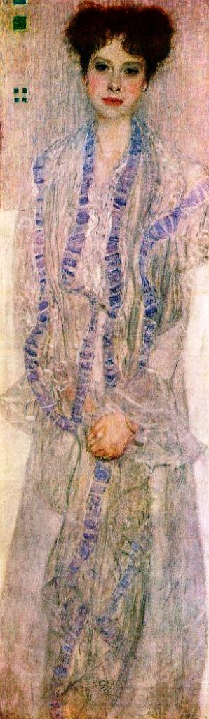 Gustav Klimt. 1902 Portrait of Gertha Felsovanyi