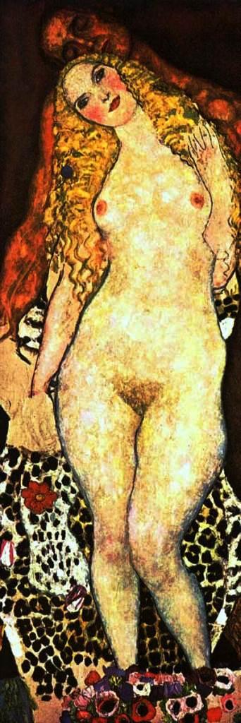 Gustav Klimt. 1917-18 Adam and Eve