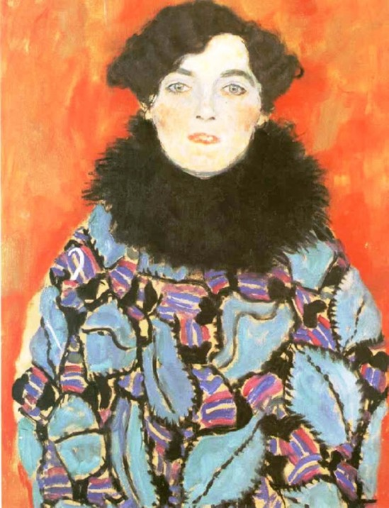 Gustav Klimt. 1917-18 Portrait of Johanna Staude