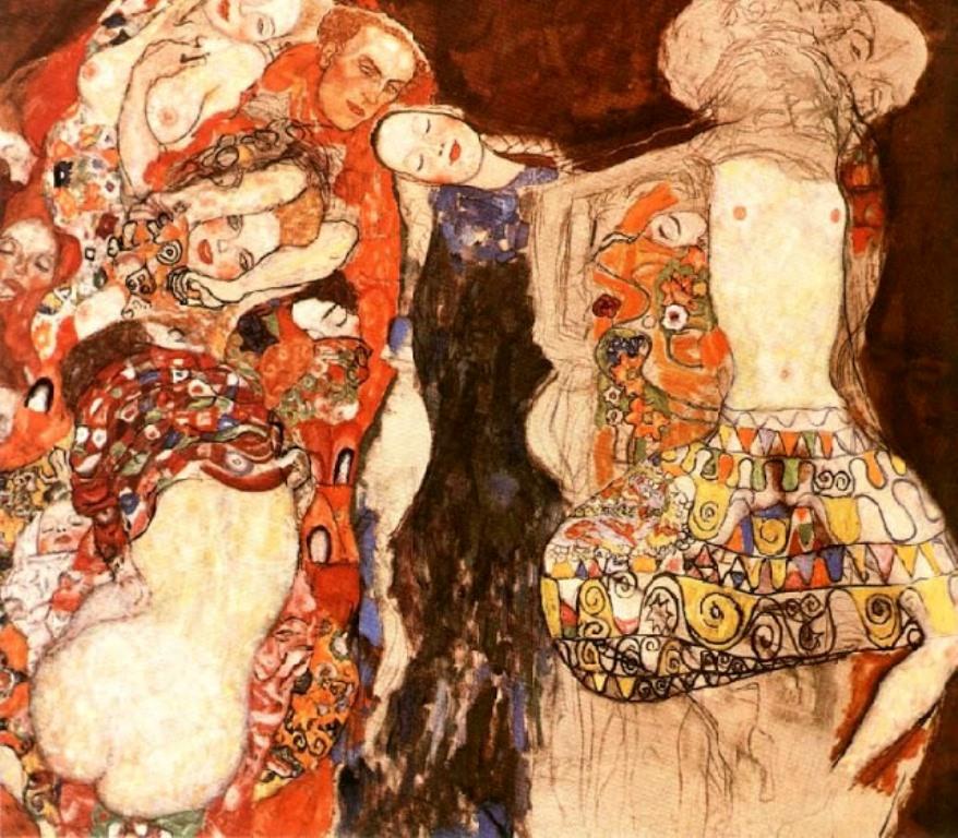 Gustav Klimt. 1917-18 The Bride
