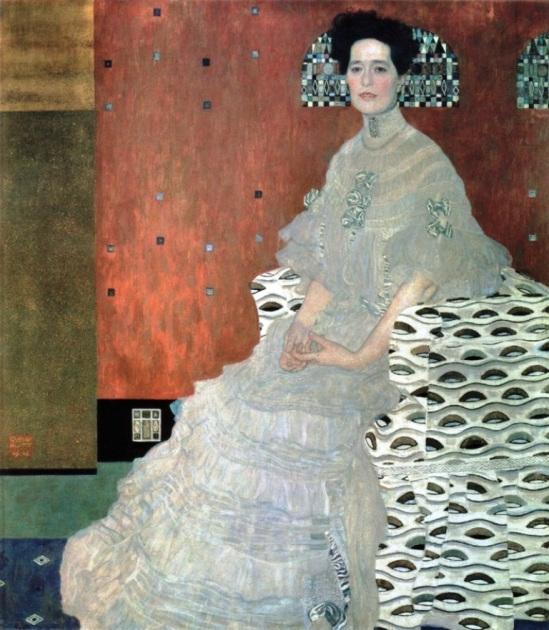 Gustav Klimt. Fritza Riedler 1906