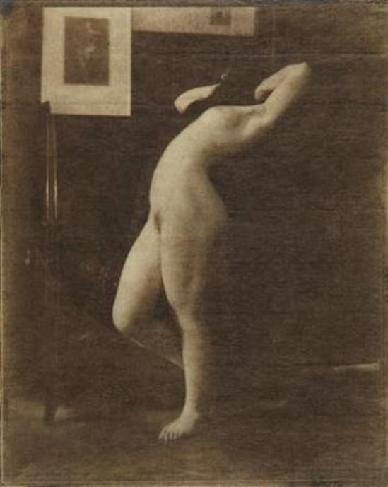 Heinrich Kühn. Etude de nu 1907 Via mutualart