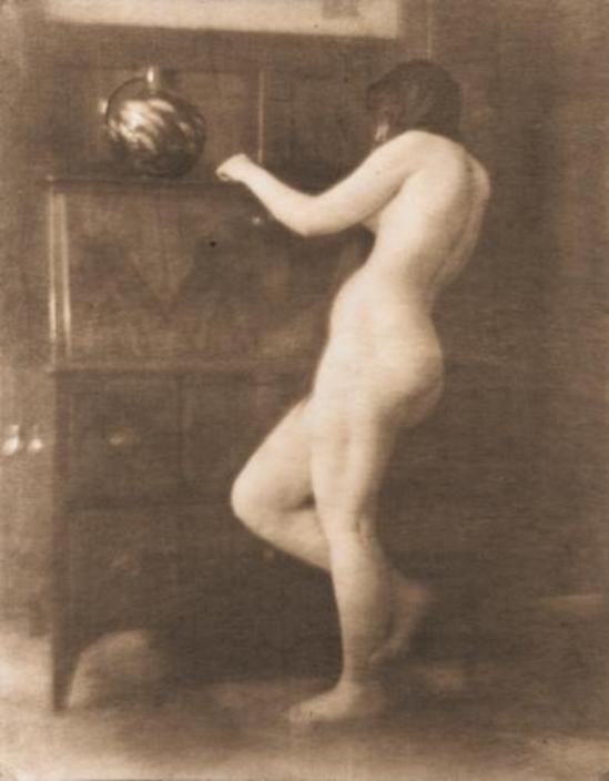 Heinrich Kühn. Nu au vase 1906 Via mutualart