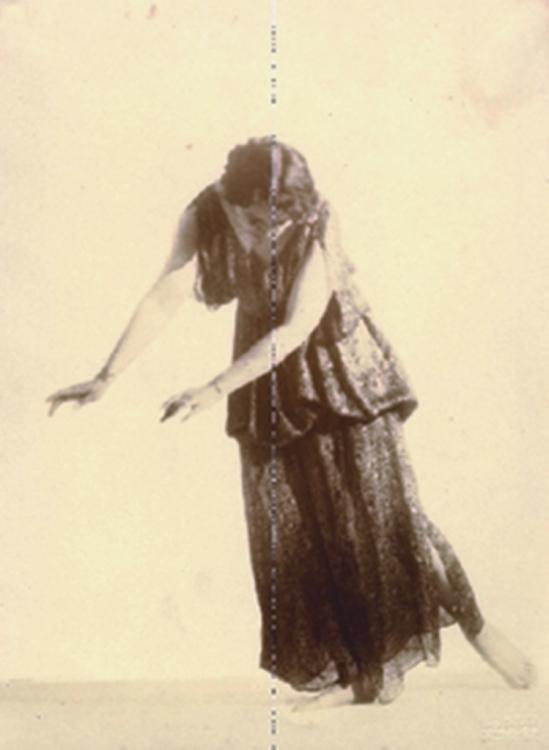 Hugo Erfurth.  La danseuse Clotilde von Derp-Sakharoff 1916 Via vanham.com