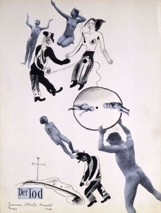 Janusz Maria Brzeski, Without Aim (from the cycle Sex), 1930 Via fiac