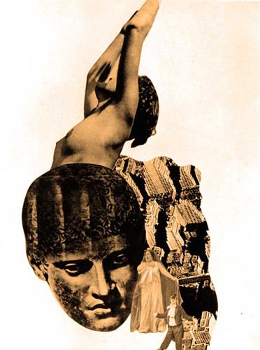 Janusz Maria Brzeski1. Photomontage Via wierzchowskiartnetgalleria