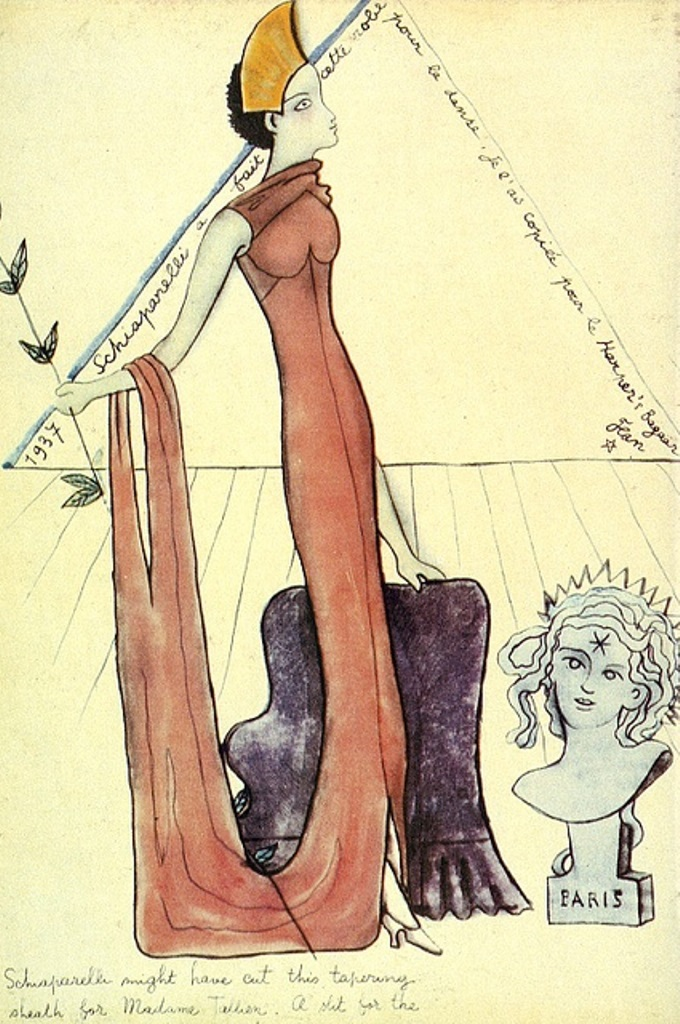 Jean Cocteau for Harper's Bazaar 1937 Via flickr