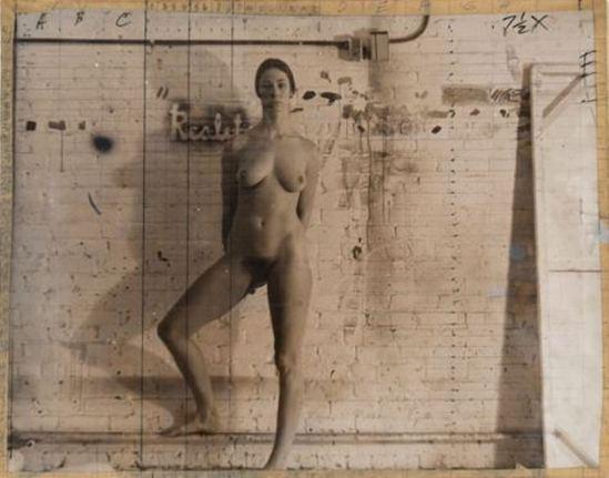 Jerry Ott. Study for painting 1970 Via paulcava.com