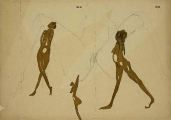 Joseph Beuys. Actresses 1958