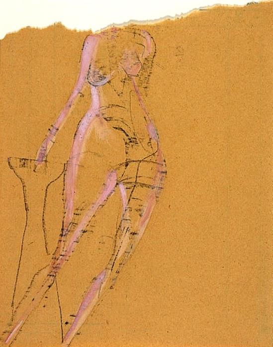 Joseph Beuys. Aktrice 1956