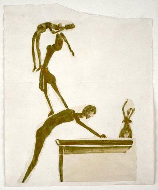 Joseph Beuys. Cascade 1954