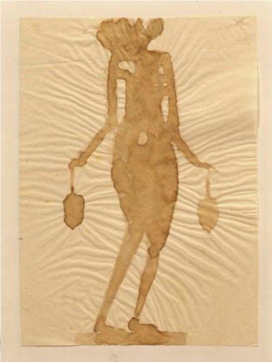 Joseph Beuys. Flower Nymph 1951