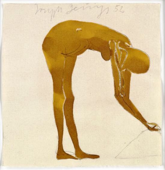 Joseph Beuys. Nu 1952