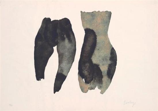 Joseph Beuys. Two female torsoes 1975