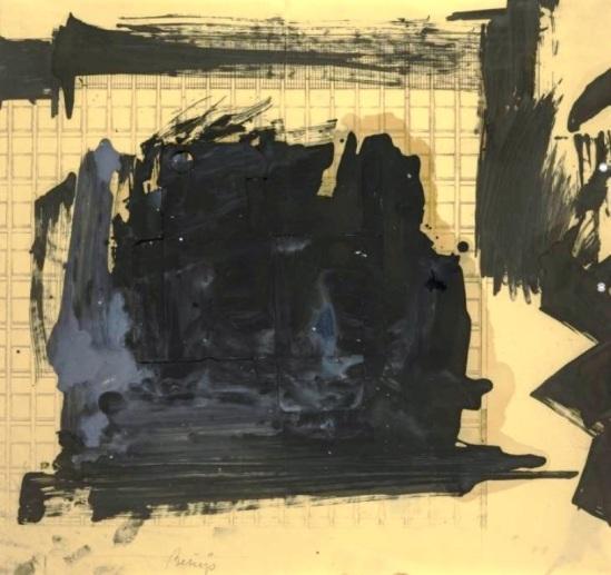 Joseph Beuys Untitled 1958