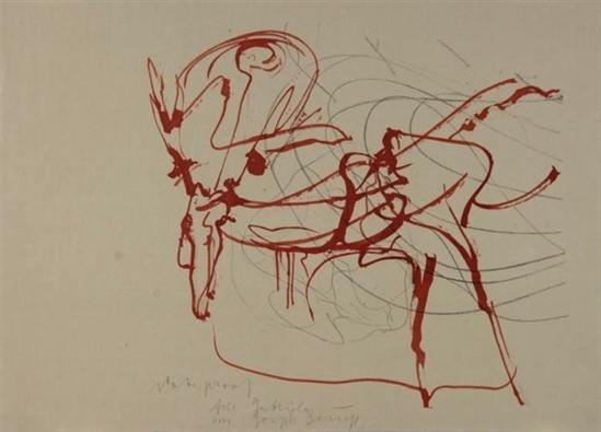 Joseph Beuys. Untitled (Hirsch und Sonne) 1974