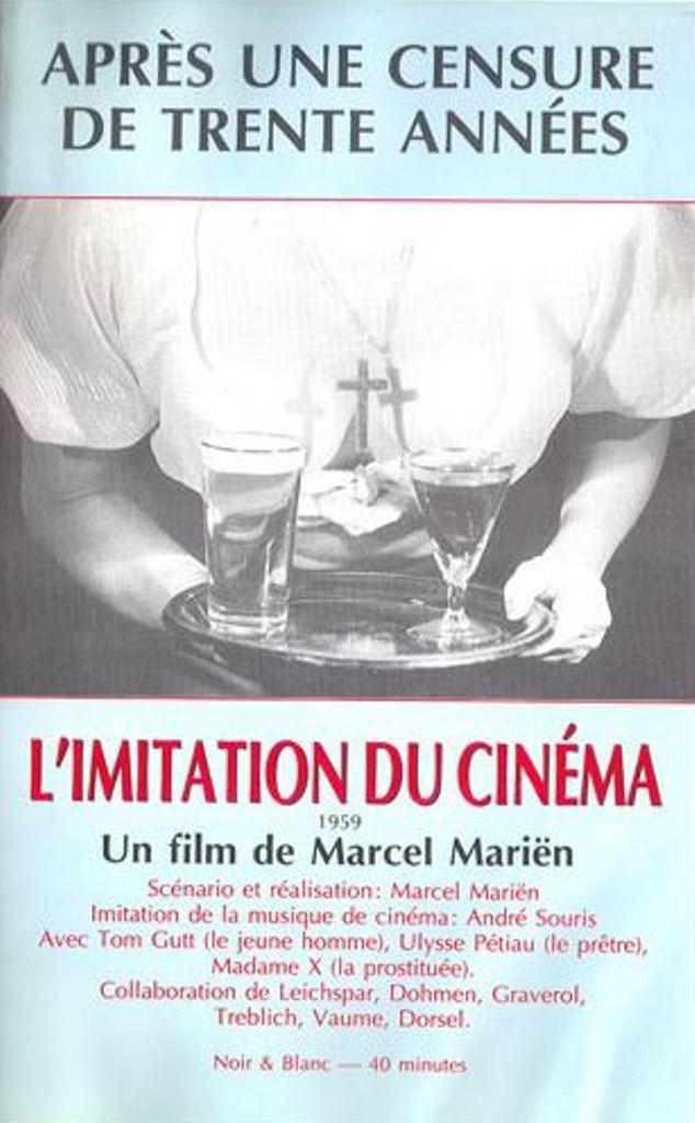Leo Dohmen. L'imitation du cinéma