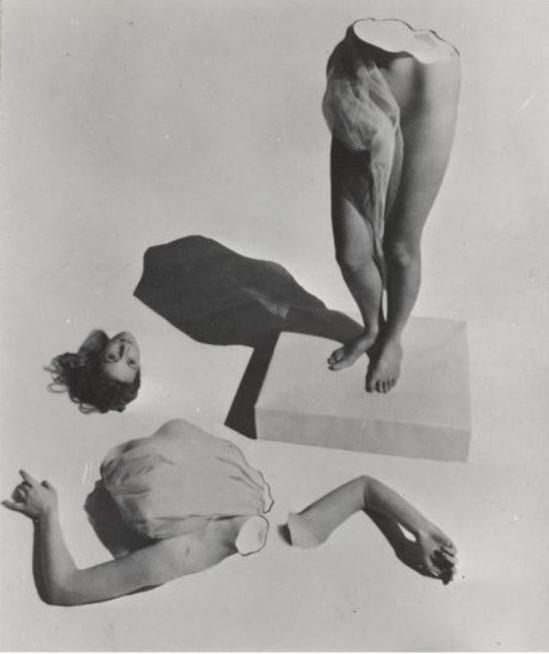 Lucien Lorelle. Femme en morceaux. Via RMN
