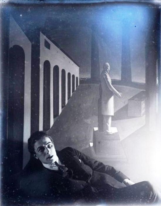 Man Ray. André Breton 1920 Via RMN
