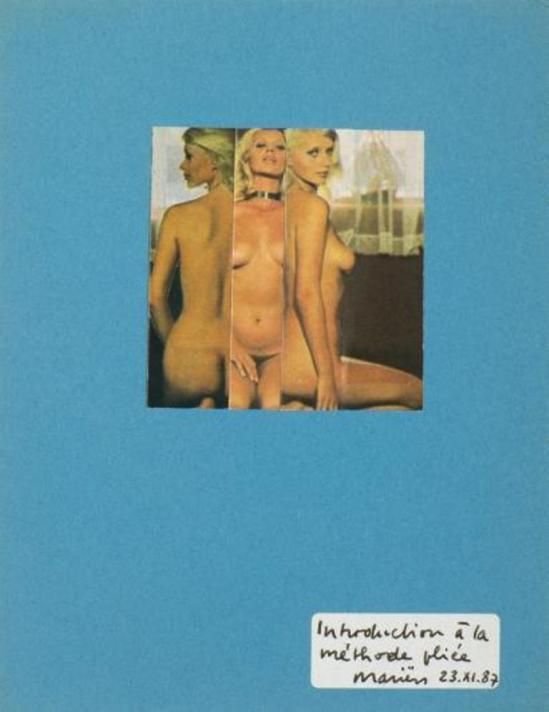 Marcel Marien. Introduction à la méthode pliée 1987 Via drouot