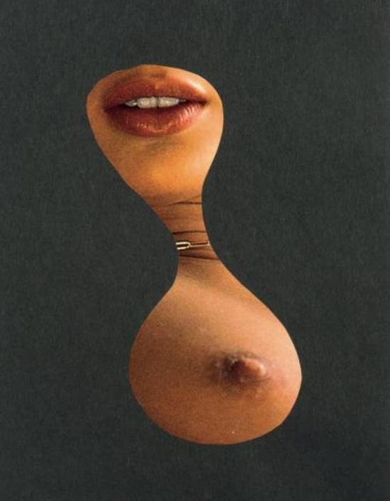Marcel Marien. La veine 1985. Collage Via drouot