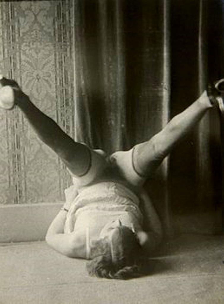 Monsieur X spread legs 1930 Via liveauctioneers