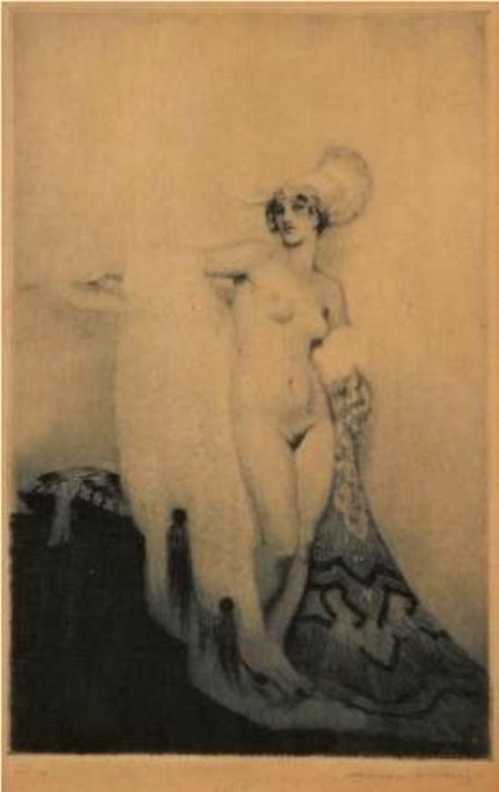 Norman Lindsay. Lydia 1919